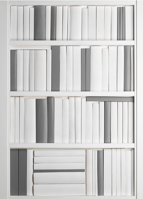 Decora Mouldings DecBOOKS False Books Faux Book Ends Replica Bookcase Display