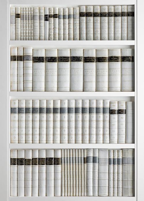 Book Display Panel DecBOOKS Feature Bookcase Decora Mouldings Hidden Compartment Panel