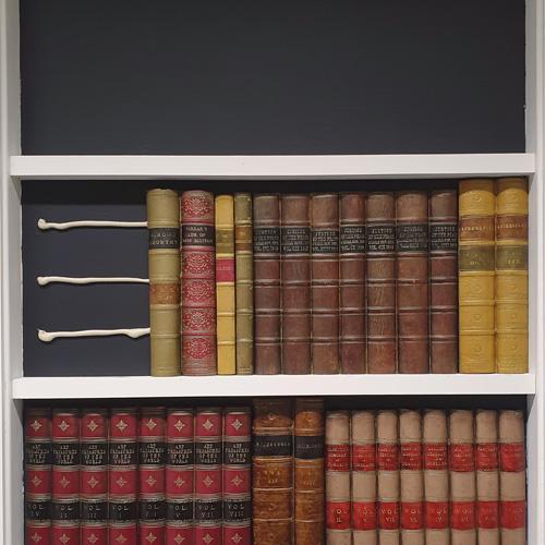 Replica Books Imitation Bookcase False Book Spines DecBOOKS