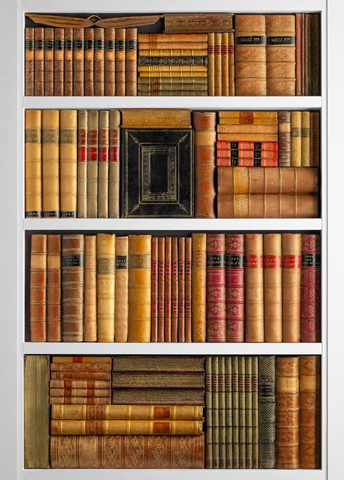 DecBOOKS Decora Mouldings Decorative Door Panel Replica Books Fake Book Ends