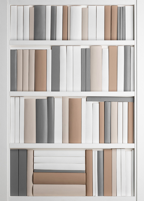 Feature Bookcase DecBOOKS Decora Mouldings Display Book Ends